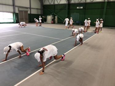 第5回 グラスホパージュニアテニスキャンプ DAY-4。【YUMI BLOG  いつも元気 ♪】