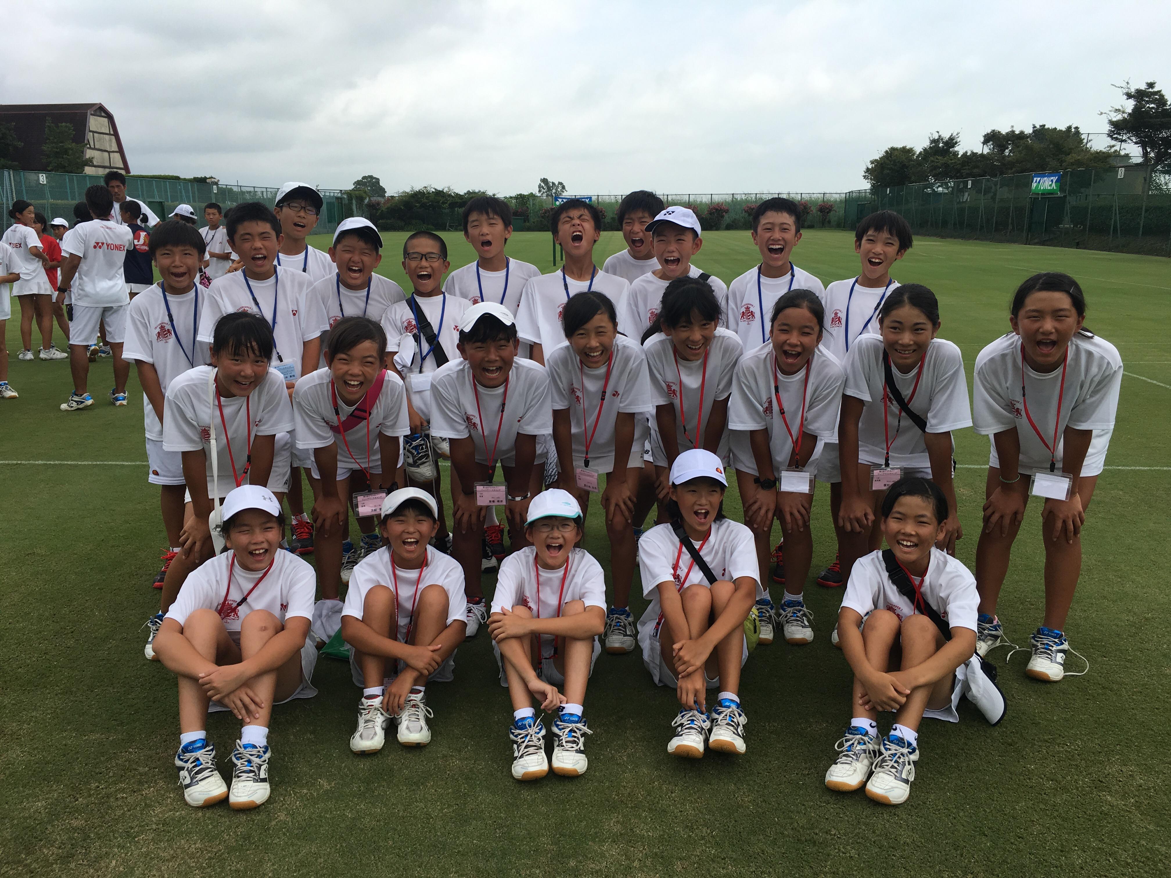 第5回 グラスホパージュニアテニスキャンプ DAY-7。【YUMI BLOG  いつも元気 ♪】